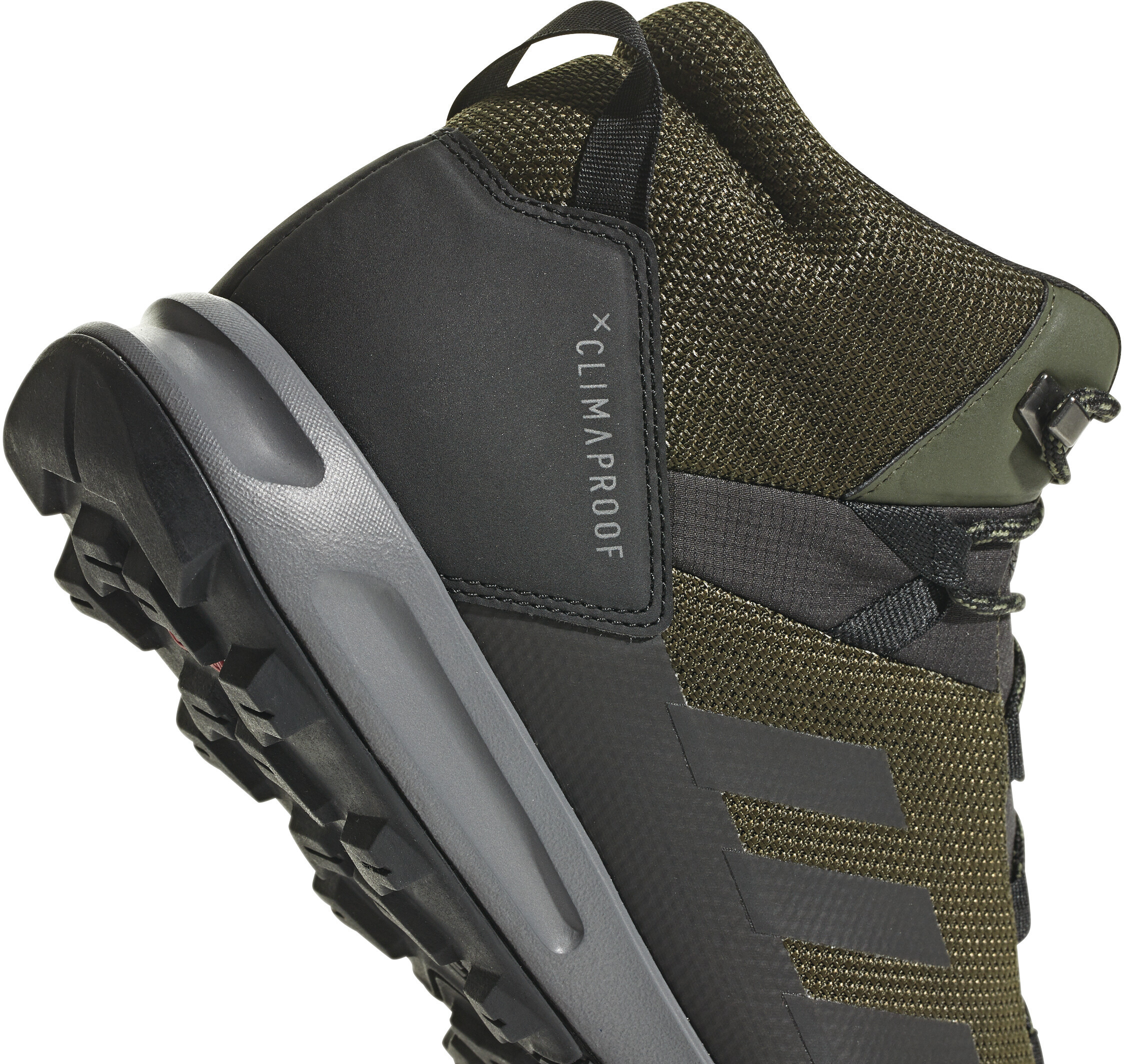 686aaf2a675 adidas TERREX Tivid ClimaProof Outdoor Mid-Shoes Men night cargo/core  black/grey four